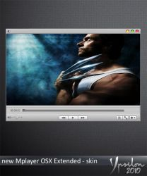 MPlayer OSX extended skin by ypsilon2010