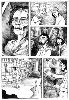 Curse of the Mummy's stone Page6 Preview by jemurr