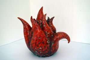 Flame tea-pot 12 by verulka
