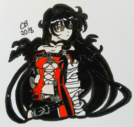 Commission: Velvet Crowe by KeeperOfCoffins