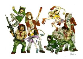 Left 4 Dead Ladies by spacecoyote