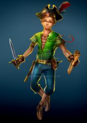 Peter Pan by AdrianDIS