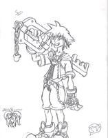 Kingdom Hearts - Sora by ClassicTeam