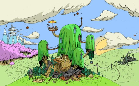 Adventure Time Coloring by Jefa57