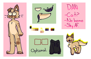 Dan ReferenceSheet by cofsyfile