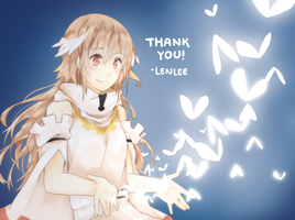 OC:: Thank you!!! by Lenlipui