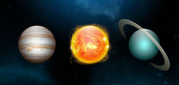 Solar System Icons by SmarTramS