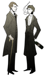 Downton Abbey: Death and the Hanged Man by DoctorCritical