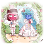 a lovely wedding by chibiirose