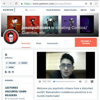 SUPPORT ME ON PATREON!!!! by galeriajesuspulido