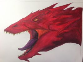 [Poster Color] Smaug by CrazyNat2012