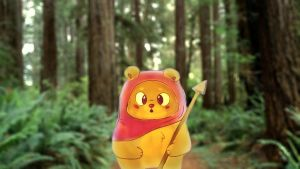 Cute Ewok Wallpaper by Lukeman8610