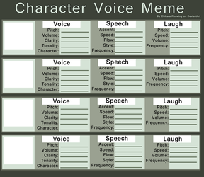 Character Voice Meme by Chikara-Redwing