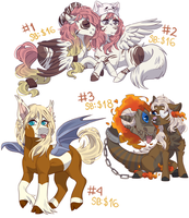 |Pony Batch|Auction 0/4|OPEN| by Ponipoke