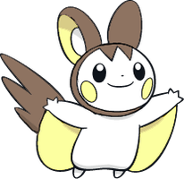 Shiny Emolga : DW Art