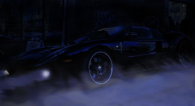 Ford GT Night by COD3-master