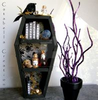 Handmade Witch's Corner 2 by catabellacreations
