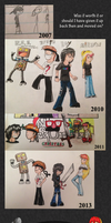 Then and Now (Improvement Chart) by MSPToons