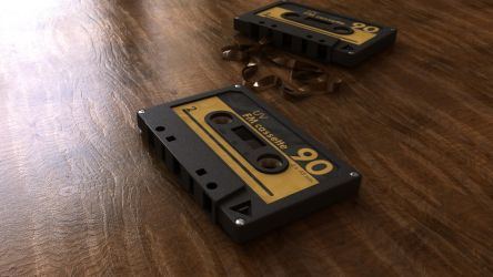 Audio Tape by d03090