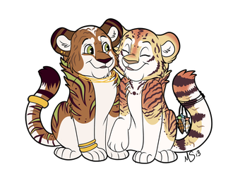 Tiger couple by Miss-Melis