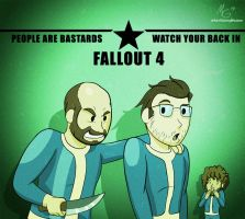 Fallout 4 contest entry by Gx3RComics