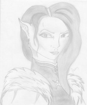 Lady Ornella, the Elven Countess by AliceWesker