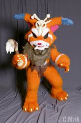 Gnar - League of Legends by Lasiral