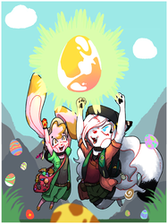 180401 Prehistoric Egg Explorer Duo by Mssilvs