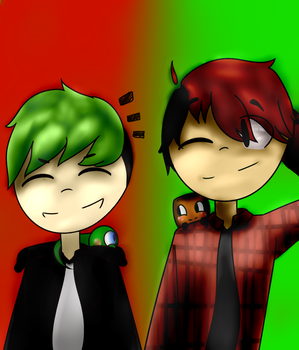 Septiplier Collab!!!! by NeedleHeart17