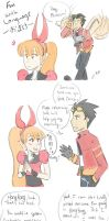 Fun with Language Omake by TookishPerian