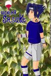 Uchiha Sasuke by Lady-Flame