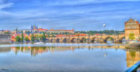 View on Prague HDR by Adida007