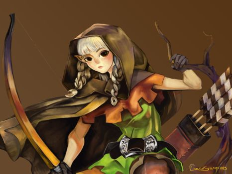 Dragon's Crown: Elf by Acrylix91