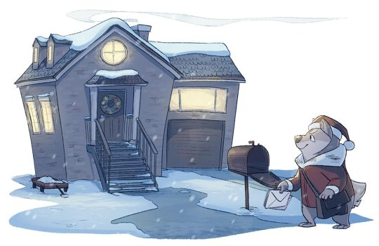 winter mail by scrii