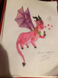 Dragon of the month February 2019 by ServineThistle
