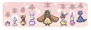 [PKMN-Clutch] .: Bunnies and Ghosties :. {Closed} by adoren
