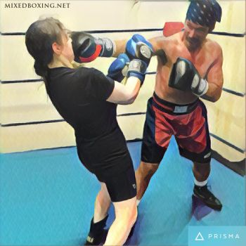 Face Punch 2 - Boxing by MixedBoxingArt