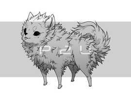 P2U - Pomeranian Base by Nishipu