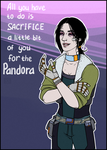 Borderlands: Inanna Tediore (OC) by maryallen138
