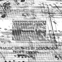 Music Brushes by despondentstock