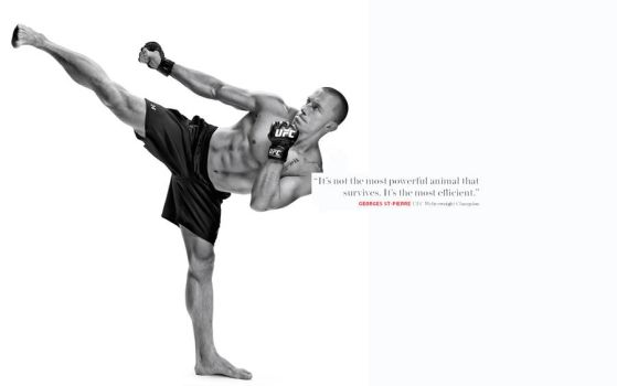Georges St. Pierre by sylvianorth