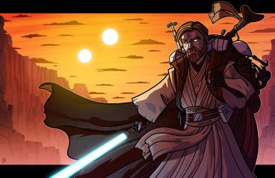 A New Home - Obi-Wan Kenobi by JoeHoganArt