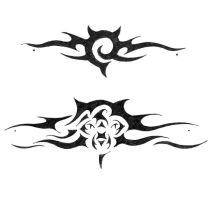 two tattoo designs by InvisibleSnow
