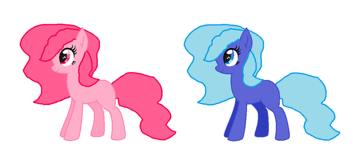 Cotton Candy Pony Adopts by mlpprincessalpha