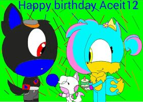 Happy birthday Aceit12 by MarioandSonicfan174