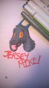 Jersey Mike Badge by Ravenhoof