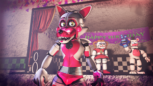 Happy FunTimes Foxy by Dr-dash