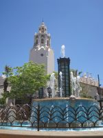 Carthay Circle and Fountain by Skylanth