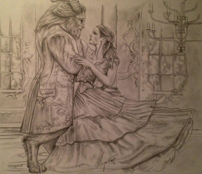 Beauty and The Beast, 16' by MeganzMonkeyBusiness