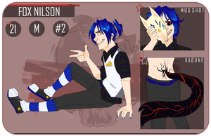 LD: Fox Nilson by ContradictingCats